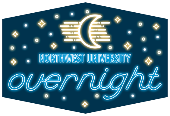 Northwest University Overnight Logo
