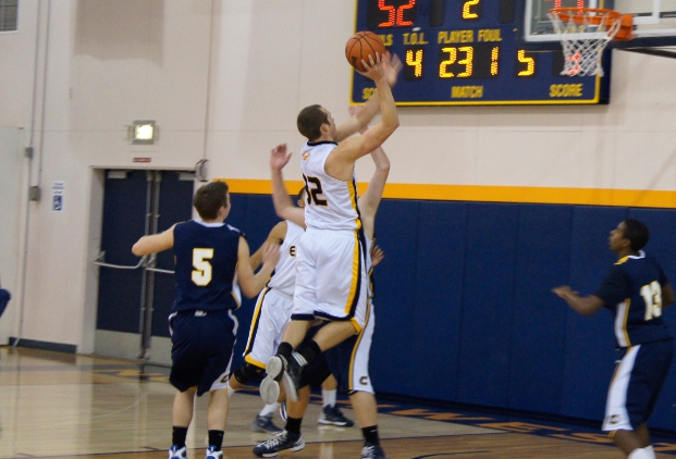 Eagles Hold Off Corban Second Half Rally to Post 13th Win