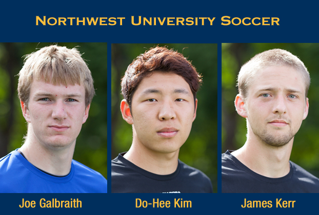 Galbraith, Kim and Kerr Named All-CCC Soccer