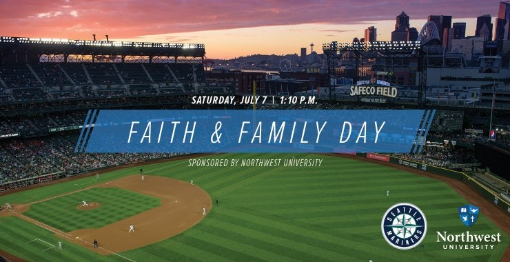 "NU Sponsors ""Faith and Family Day"" with Seattle Mariners"
