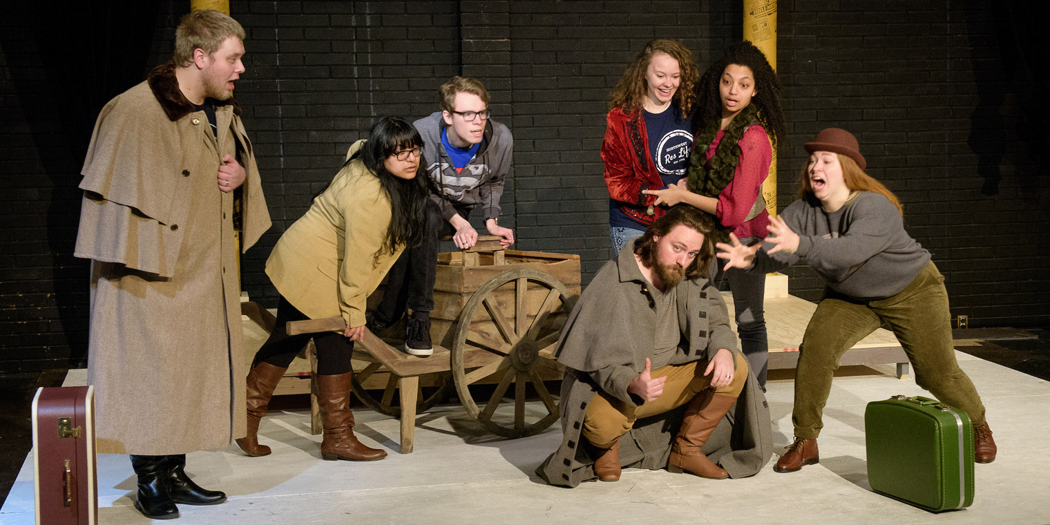 Northwest University Drama Presents: Rosencrantz & Guildenstern Are Dead
