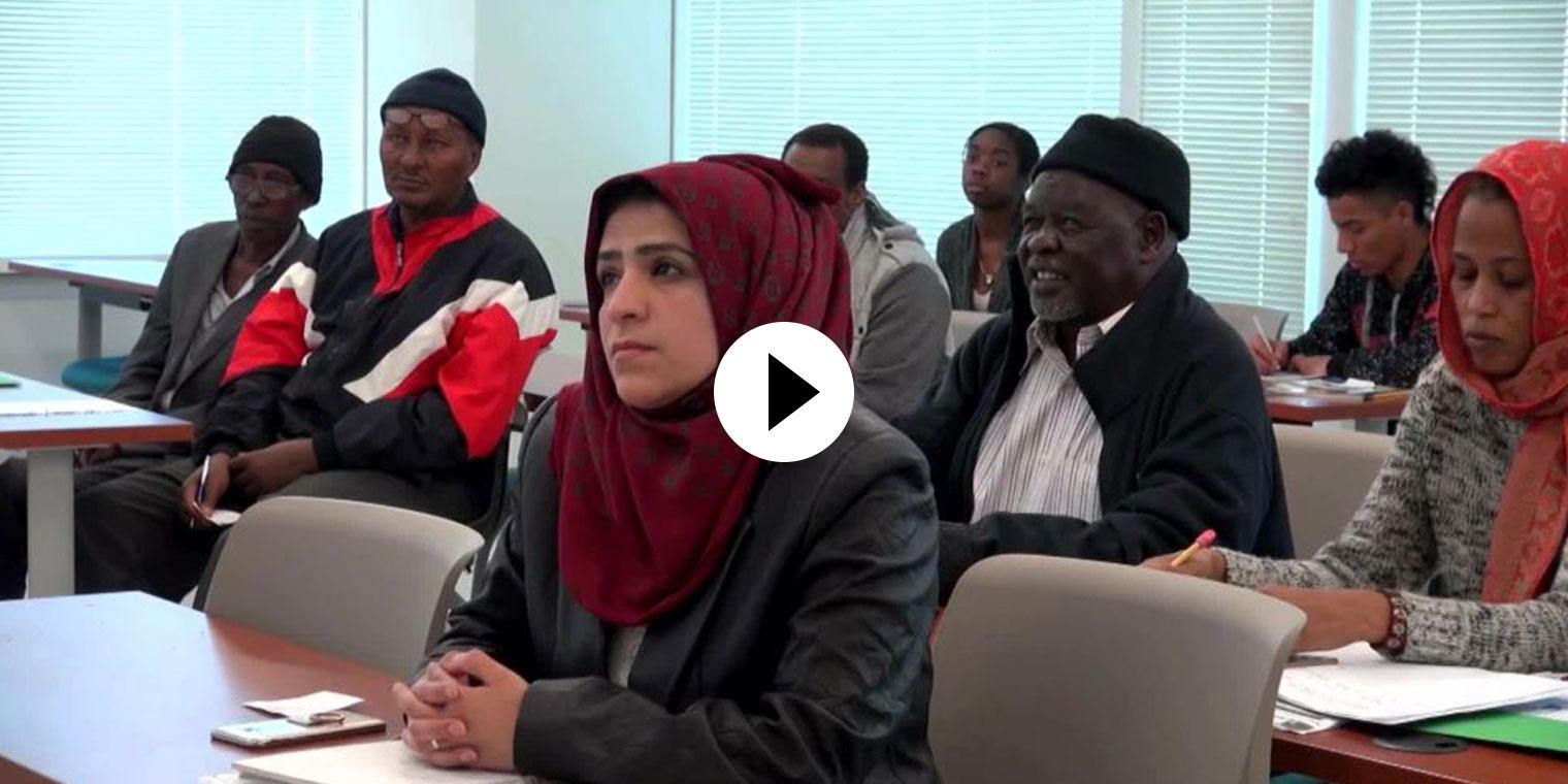 Refugee English Video
