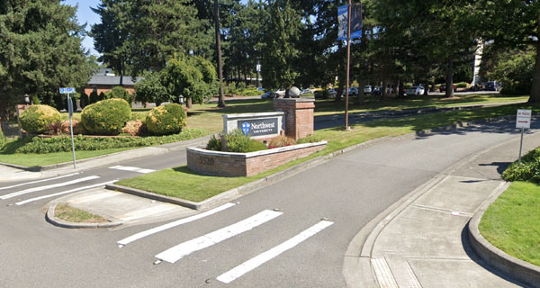 Entrance to Campus