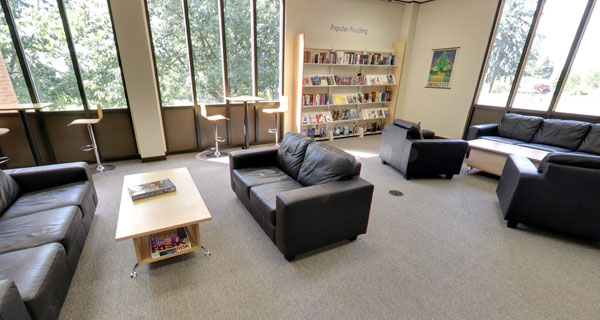 Hurst Library 1st Floor Seating Area