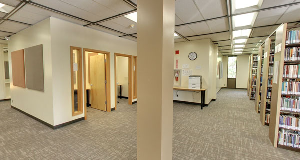 Hurst Library 2nd Floor Study Rooms