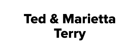 Ted and Marietta Terry