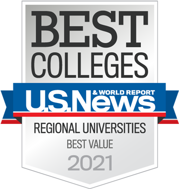 U.S. News and World Report Best Value Regional Universities 2021