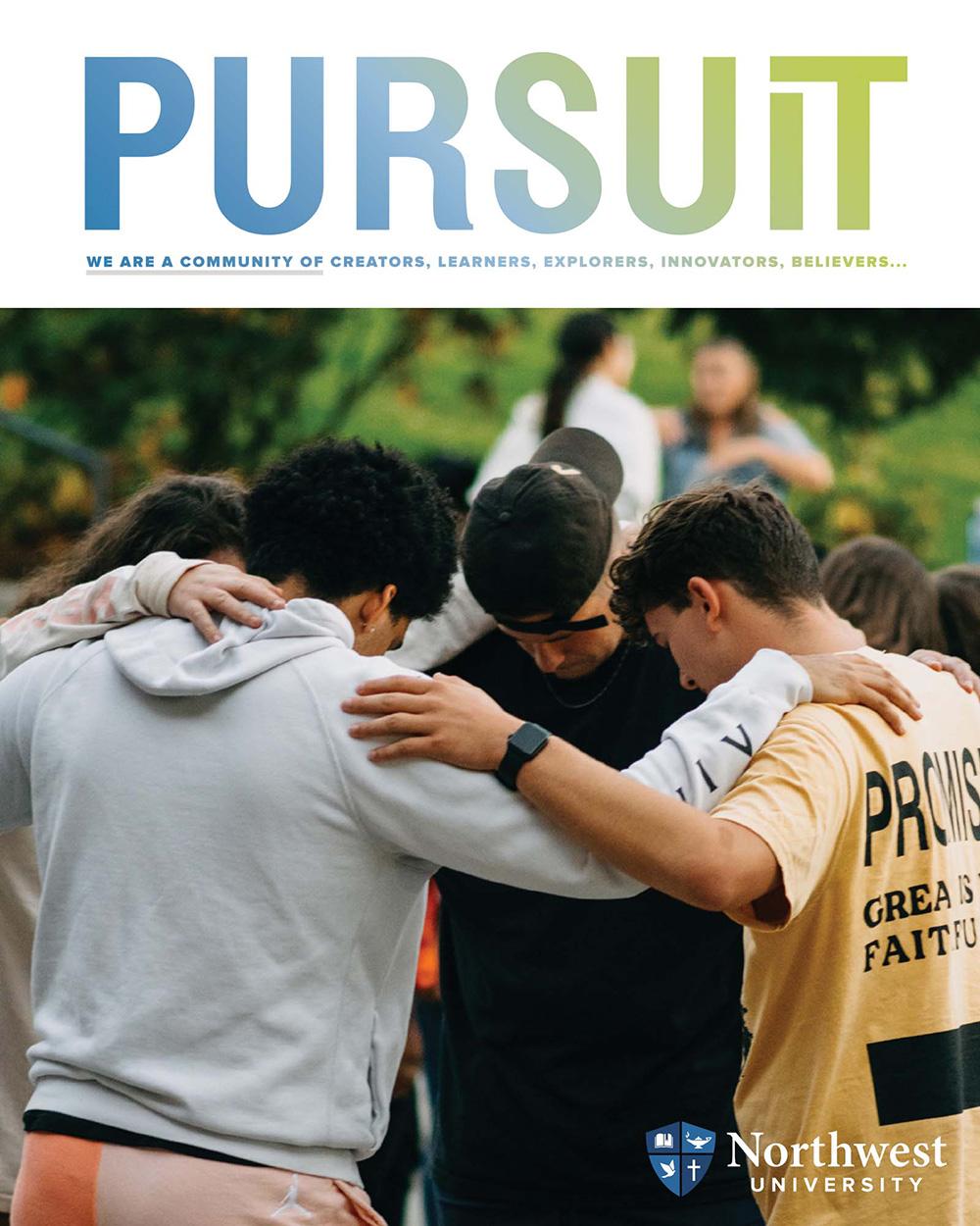 Pursuit Magazine Cover