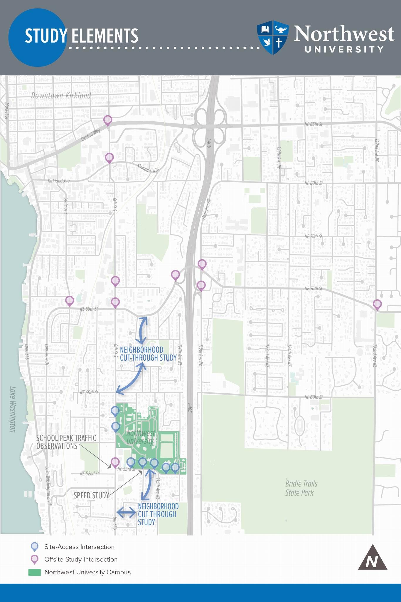 Traffic Study Area Map