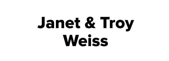 Janet and Troy Weiss