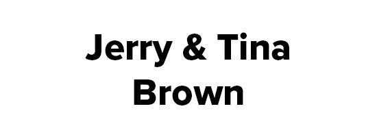 Jerry and Tina Brown Logo